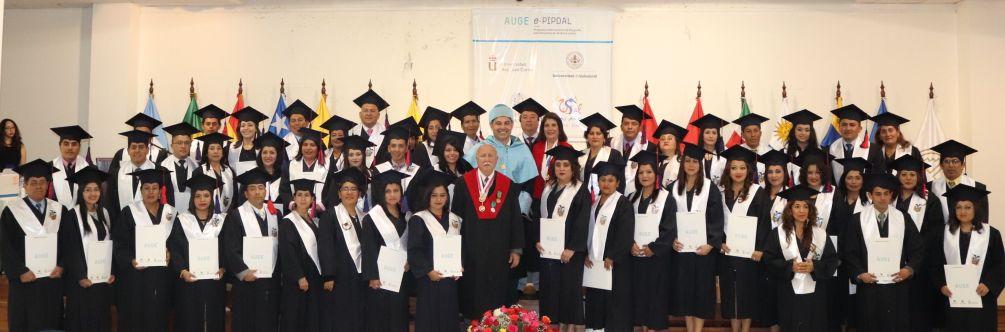 graduación Master Ecuador