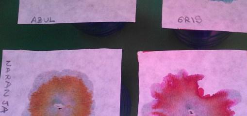 thumbnail circulos de cromatografia con rotuladores