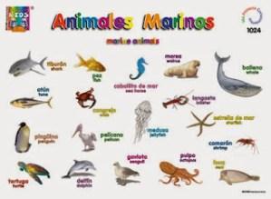 AnimalesMarinoseningles