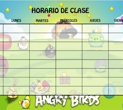 horario21 angry birds