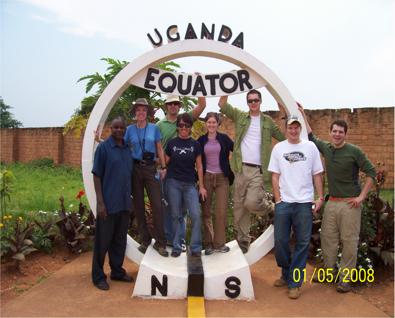 Equator Embrace the tourist thing - the equator is fascinating.