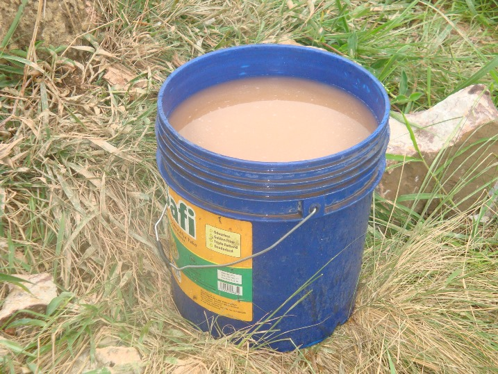 Bucket of KARUCO Water