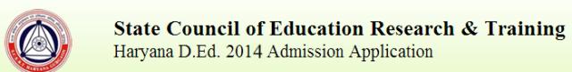 haryana d.ed. SCERT logo Education Bhaskar