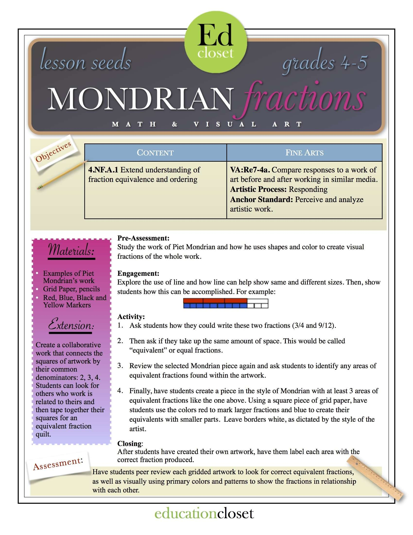 Lesson Plan On Equivalent Fractions Year 4 year 3 numeracy – Additive Inverse Worksheets