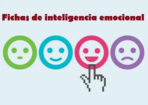 Fichas Inteligencia Emocional para la etapa de Secundaria