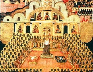 October 16, 2016 Commemoration of the Fathers of the Seventh Ecumenical Council, Octoechos Tone 5; The Holy Martyr Longinus the Centurion