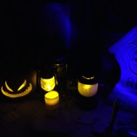 Flicker LED DIY Light System for the yard this year