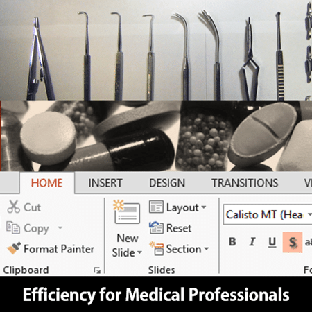 Office Efficiency for medical professionals