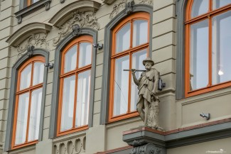 Beautiful architecture in Old Riga