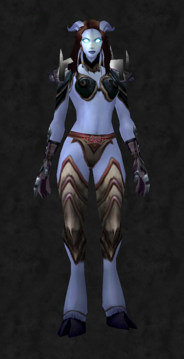 Azeroth's Next Top Plate Model (4/6)