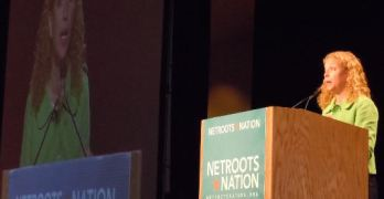 Democratic Chairwoman Debbie Wasserman Schultz At Netroots Nation 2011