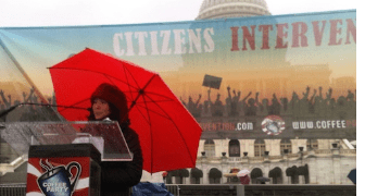 Coffee Party USA Enough Is Enough Citizens Intervention A Resounding Success Even With Uncooperative Weather