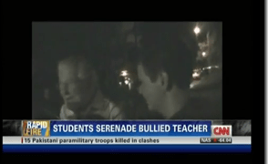CNN Airs Kingwood High School Beloved Teacher Being Serenaded By Students
