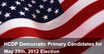 Harris County Democratic Party Primary 2012 Results