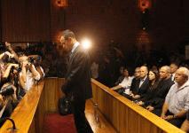 BREAKING: Blade Runner Oscar Pistorius Release On Bail (VIDEO)