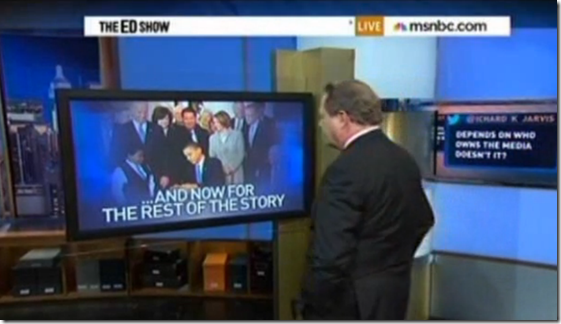 Ed Schultz on Traditional Media