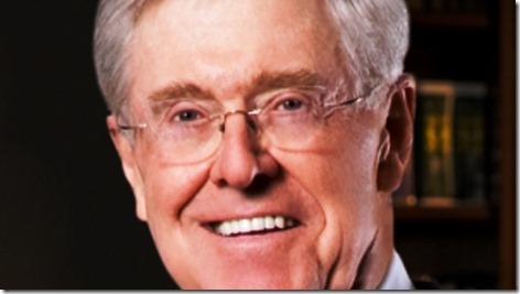 Charles Koch Koch Brothers Wall Street Journal op-ed
