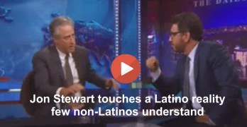 Jon Stewart explores problem with 2016  pandering for Latinos (VIDEO)
