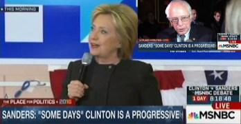 Hillary Clinton plays victim card again but now on Bernie Sanders (VIDEO)