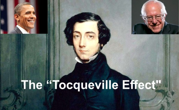 Obama s Tocqueville Effect and the Rise of Bernie Sanders