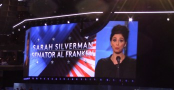 Sarah Silverman passionately endorses Hillary Clinton at Democratic National Convention (VIDEO)