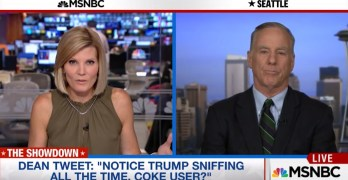 Howard Dean: Does Trump's snorting during debate suggest cocaine use? (VIDEO)
