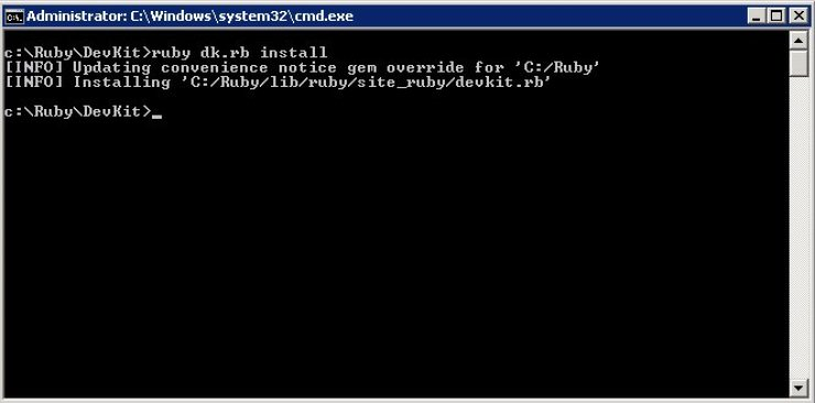 Install Ruby on Rails on Windows guide 04