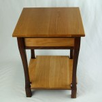 Black Walnut and White Oak End Table