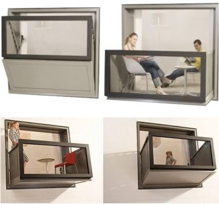 Balcon tip rama fereastra