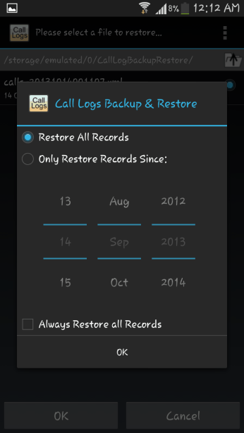 Call Logs Backup v3.45 احتياطيه 2014,2015 Screenshot_2013-10-1