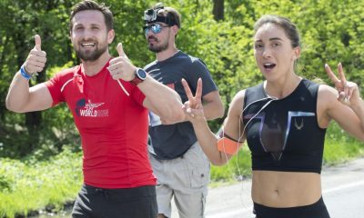 Dani Oțil folosește aplicația de alergare Wings for Life World Run