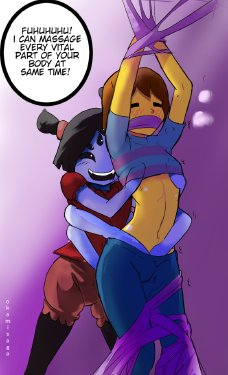 undertale muffet and frisk porn