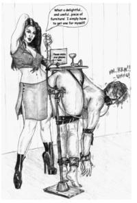 femdom torture male slaves art