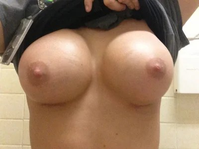 perfect d cup breasts