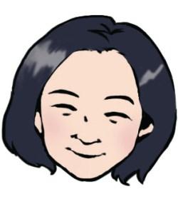 岩本先生似顔絵