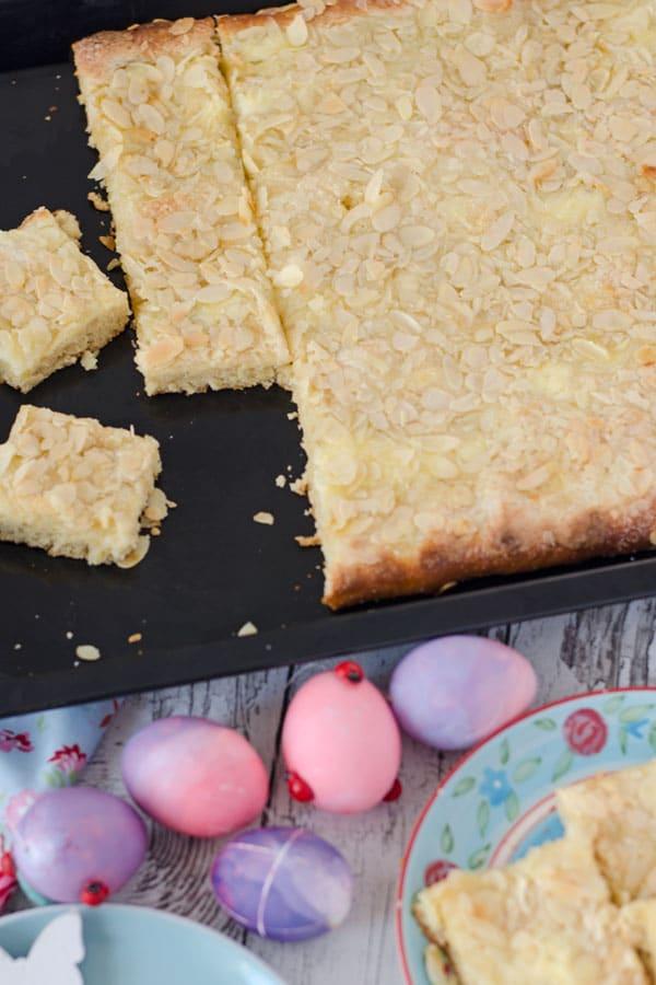Norddeutscher Butterkuchen nach Oma´s Rezept. German buttercake - recipe from my granny - also in english! www.einepriselecker.de