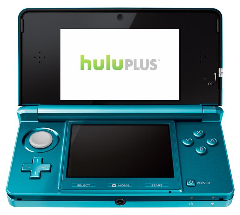 HuluPluscomingtoNintendo3DSandWii