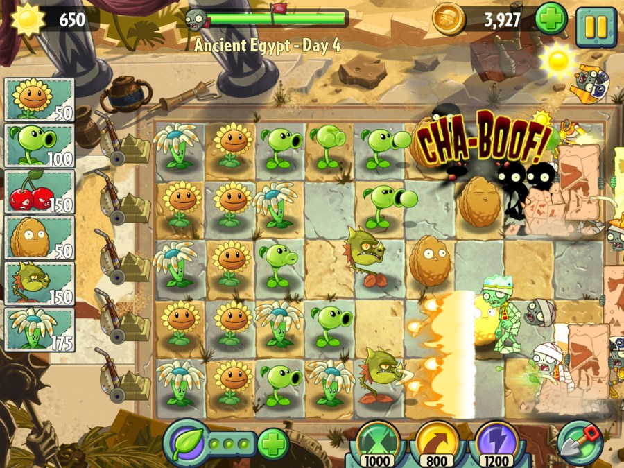 Plants vs. Zombies 2,