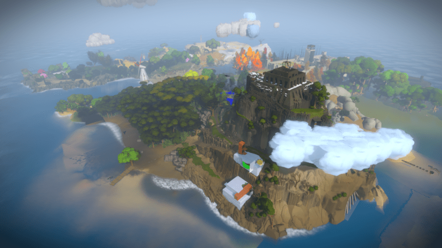 The Witness Game World