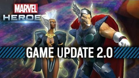 Marvel Heroes receives Game Update 2.0-Asgard