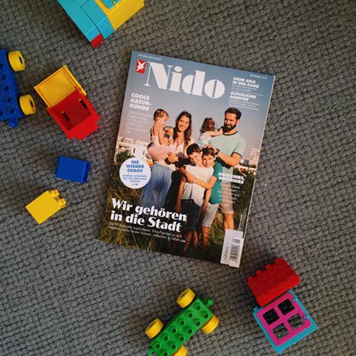 NIDO, Titelthema, Leben mit Kind, Leben mit Kind auf dem Land, Leben mit Kind in der Stadt