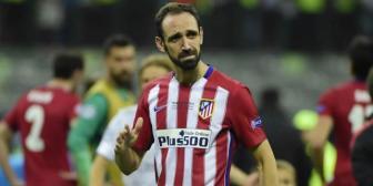 Juanfran dedicó emotiva carta a afición del Atlético