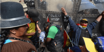 Ministerio de Gobierno acusa de falso policía a un marchista