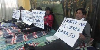 Fabriles de La Paz anuncian bloqueos de caminos a partir del lunes