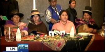 CIDOB cuestionan agresividad de marchistas del CONISUR y pasividad de la Policía