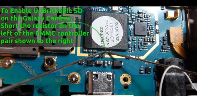 UnBrickable SD para el Samsung Galaxy Camera