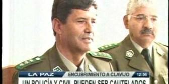 Un policía y un civil pueden ser procesados por encubrimiento a Clavijo
