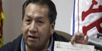 Sin custodio y solo, Santos Ramírez camina libremente por el centro de La Paz