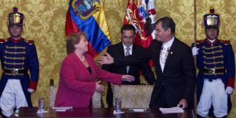 Canciller de Chile dice que Correa no apoyó demanda boliviana
