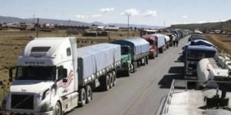 Transporte Pesado de Cochabamba asistirá al diálogo con el Gobierno y pide reflexión a bloqueadores